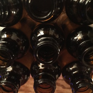 Amber bottles can only mean one thing...stay tuned to find out more.